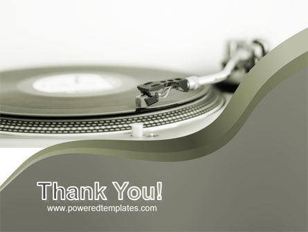 Record Player PowerPoint Template Slide 20