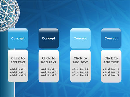 Framework Sphere PowerPoint Template Slide 5
