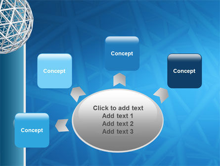 Framework Sphere PowerPoint Template Slide 7