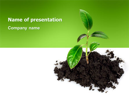 Nature & Environment: Plantilla de PowerPoint - vida #03126