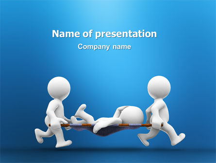 Emergency PowerPoint Template, 03129, Medical — PoweredTemplate.com
