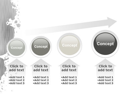 Gray Stain PowerPoint Template Slide 13