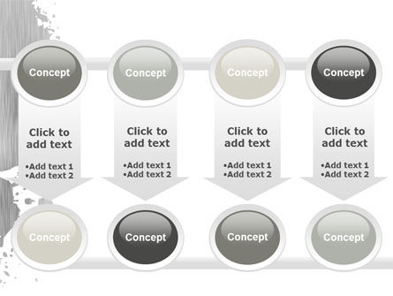 Gray Stain PowerPoint Template Slide 18