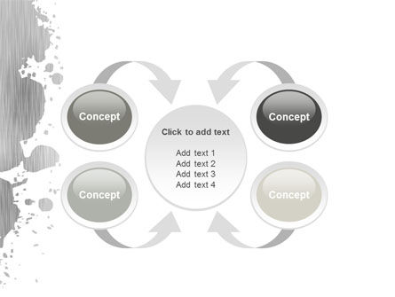 Gray Stain PowerPoint Template Slide 6