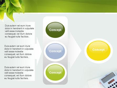 Business World Newspaper PowerPoint Template Slide 11