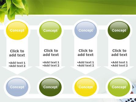 Business World Newspaper PowerPoint Template Slide 18