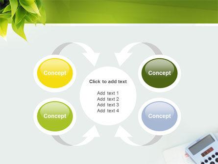 Business World Newspaper PowerPoint Template Slide 6