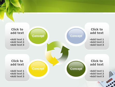 Business World Newspaper PowerPoint Template Slide 9
