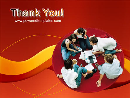 Young Team Work PowerPoint Template Slide 20