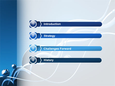 Water Theme PowerPoint Template, Slide 3, 03137, 3D — PoweredTemplate.com