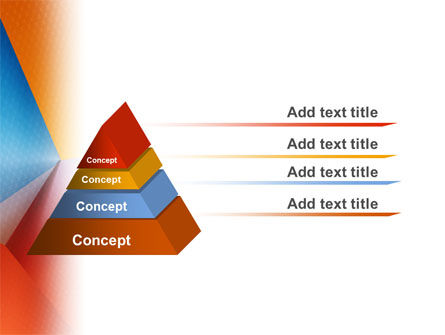 Colorful Angles PowerPoint Template Slide 4