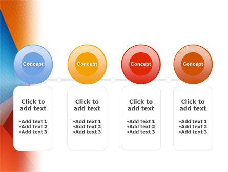 Colorful Angles PowerPoint Template Slide 5