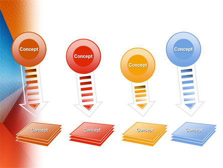 Colorful Angles PowerPoint Template Slide 8