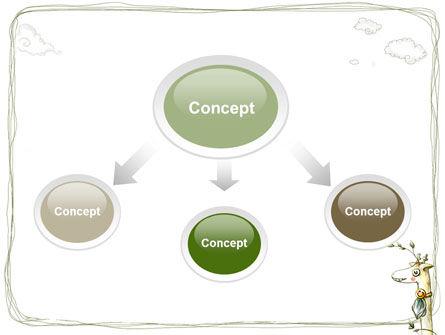 Childish Art PowerPoint Template, Slide 4, 03139, Art & Entertainment — PoweredTemplate.com