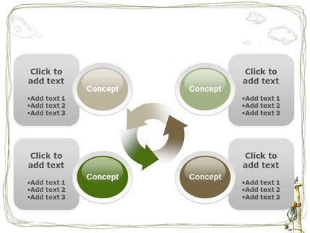 Childish Art PowerPoint Template Slide 9
