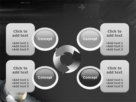 Globe Of Steel PowerPoint Template Slide 9