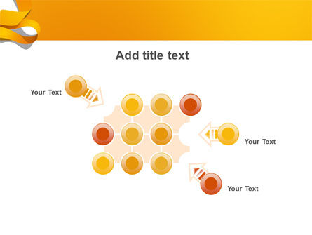 Orange String PowerPoint Template Slide 10