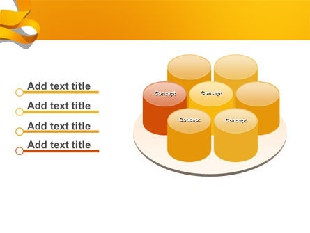 Orange String PowerPoint Template Slide 12