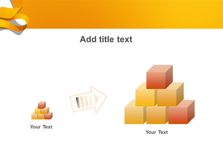 Orange String PowerPoint Template Slide 13