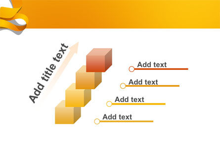Orange String PowerPoint Template Slide 14