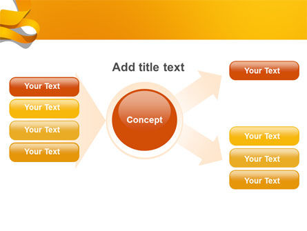Orange String PowerPoint Template Slide 15