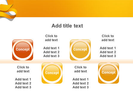 Orange String PowerPoint Template Slide 18