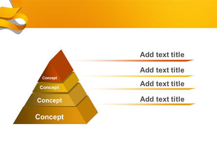 Orange String PowerPoint Template Slide 4