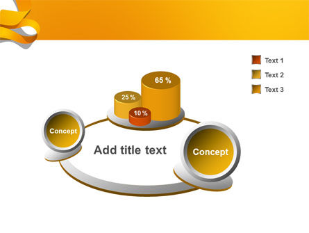 Orange String PowerPoint Template Slide 6