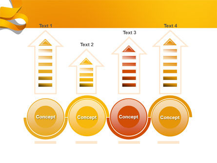 Orange String PowerPoint Template Slide 7