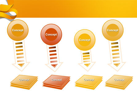 Orange String PowerPoint Template Slide 8
