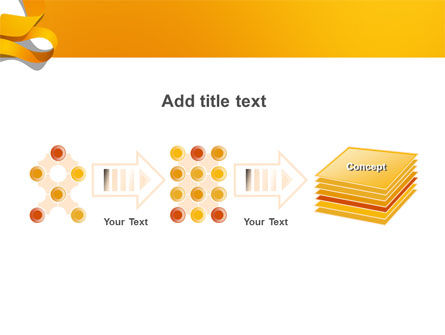 Orange String PowerPoint Template Slide 9