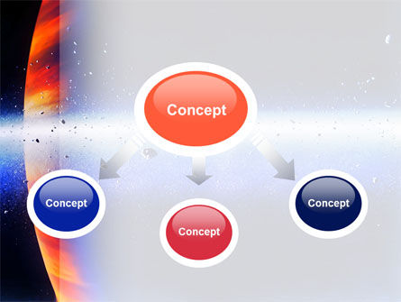 Planetoid Rings PowerPoint Template, Slide 4, 03144, Technology and Science — PoweredTemplate.com