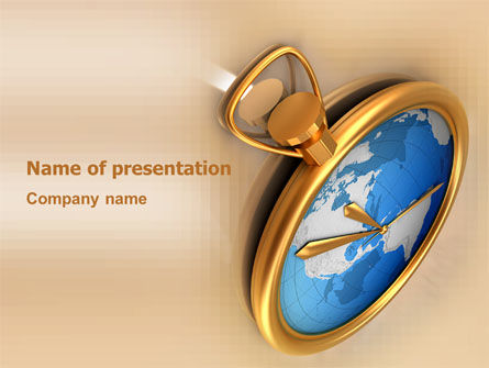 Business Concepts: Clocks PowerPoint Template #03146