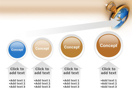 Clocks PowerPoint Template Slide 13