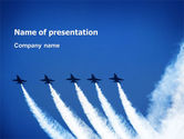 Aviation Parade PowerPoint Template#1