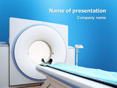 Medical: Modello PowerPoint - Macchina tomografia #03151
