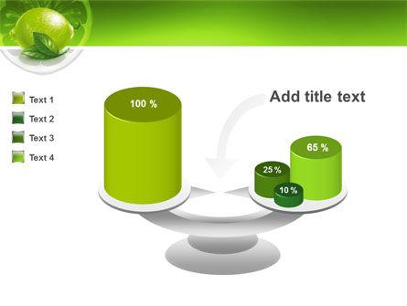 Green Lemon PowerPoint Template Slide 10