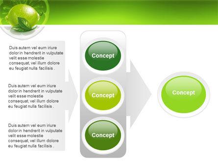 Green Lemon PowerPoint Template Slide 11