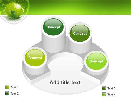 Green Lemon PowerPoint Template Slide 12