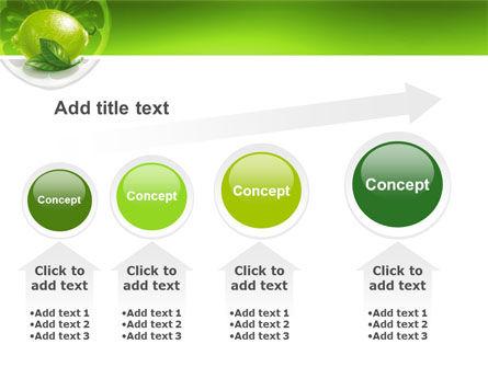 Green Lemon PowerPoint Template Slide 13