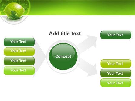 Green Lemon PowerPoint Template Slide 14