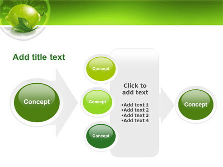Green Lemon PowerPoint Template Slide 17