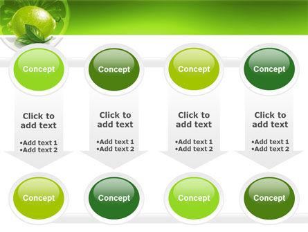 Green Lemon PowerPoint Template Slide 18