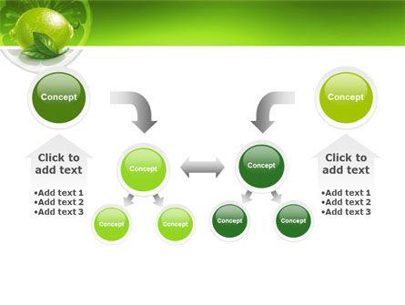 Green Lemon PowerPoint Template Slide 19