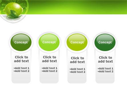 Green Lemon PowerPoint Template Slide 5