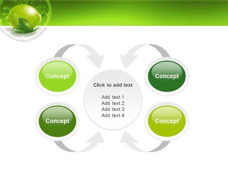 Green Lemon PowerPoint Template Slide 6