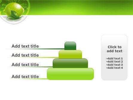 Green Lemon PowerPoint Template Slide 8