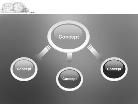 Building Design PowerPoint Template, Slide 4, 03154, Construction — PoweredTemplate.com