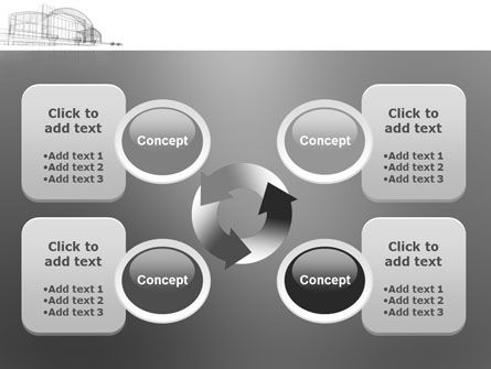 Building Design PowerPoint Template Slide 9