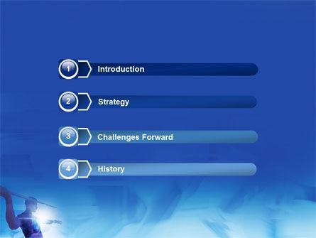 Javelin Throwing PowerPoint Template, Slide 3, 03157, Sports — PoweredTemplate.com
